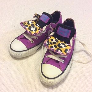 CONVERSE | Purple Sneakers